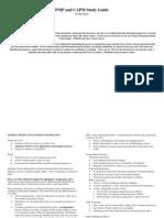 Jedifenner CAPM - Study Guide