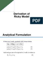 2. Derivation of Ricky Model