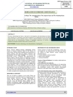 Sex Determination in Forensic Odontology