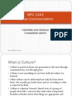 2 MPU2243 Culture and Human Communication