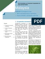 Co-operative Movement in Malaysia