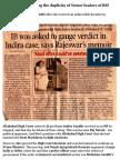 Emergency - Exposing the Duplicity of Senior Leaders of RSS