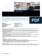 Data Overview - Contract Risk Manager