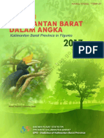 Provinsi Kalimantan Barat Dalam Angka 2017