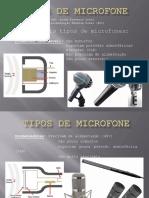 SOM DIRETO - Tipos de Microfone