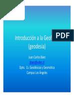 IntroducciónaLaGeofísica. Geodesia - Báez