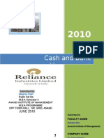CASH & BANK MANAGEMENT RIL(VMD) by Meghal Shah