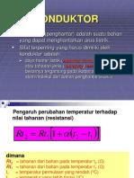 KONDUKTOR-material listrik