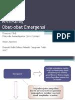 Refreshing Obat Emergensi