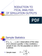 Statistica - Statistics