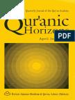 02-The Quranic Horizons (April - June 1996)