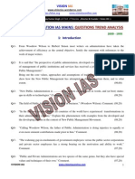 Pub Ad (Paper-i) Trend-Analysis (2009-1995)