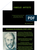 Some Famous Artists