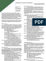 Examination of Conscience for Seminarians 27th Nov 2005
