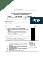 Checklist Pemeriksaan Abdomen Lanjut