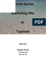Service Sector Marketing Mix in Tourism