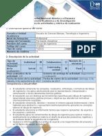 Guia de Actividades y Rubrica de Evaluacion Fase 1 Ciclo de La Tarea 1 Dibujo Normalizado.