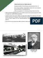 Sejarah Kereta API Di Tanah Melayu