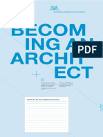 Becoming an Architect Brochure