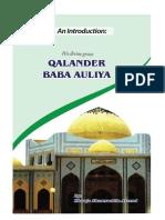 Qalandar Baba Auliya(Eng)