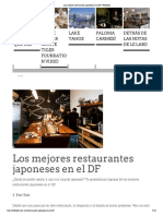 Los Mejores Restaurantes Japoneses en El DF _ Hotbook