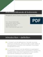 Mineral Industri