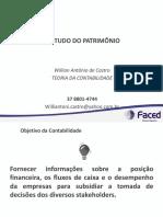 ESTUDO DO PATRIMÔNIO