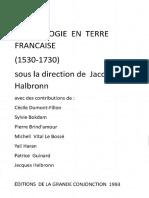 l' Astrologie en Terre Fançaise (1530-1730)  Dir. Jacques  Halbronn,