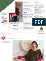 LW4953 Set the Trend Poncho Free Crochet Pattern
