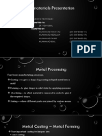 Presentation Shit Metal Processing