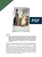 Indumentaria Siglo XIX Hasta1910