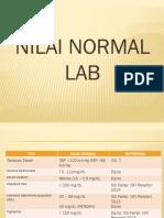 Nilai Normal Lab