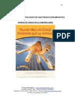 Analisis Antropologico de Una Produccion Mediatica