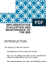 Implementationevaluationandmaintenanceofthemis 151025202835 Lva1 App6892