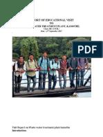 Report of Educational Visit