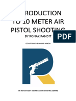 Introduction to 10 Metre Air Pistol