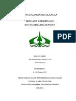 Disaster Plan Balikpapan.doc