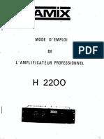 Amix - H2200
