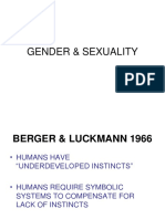 Gender Sexuality