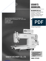 Instruction Manual Sunstar KM-250_series.Pdf