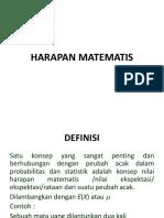 6 HARAPAN MATEMATIS
