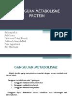 Kelompok 1 (Gangguan Metabolisme Protein)