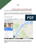 Itinerario  París