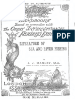 Literature of Sea and River Fishing-j j Manley 1883