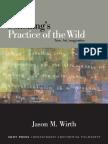 Schelling, Friedrich Wilhelm Joseph Von; Wirth, Jason M Schellings Practice of the Wild Time, Art, Imagination