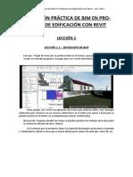 Apuntes - Aplicación Práctica de Bim en Proyectos de Edificación Con Revit