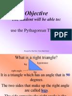 Pythagorean t Hm