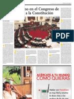 El largo camino en el Congreso de tres reformas a la Constitución