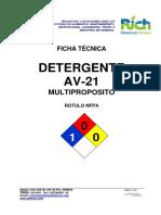 Av-21 Detergente Multipropósito