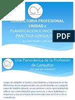 Unidad2-Planificacion e Inicio de La Practica Consultora